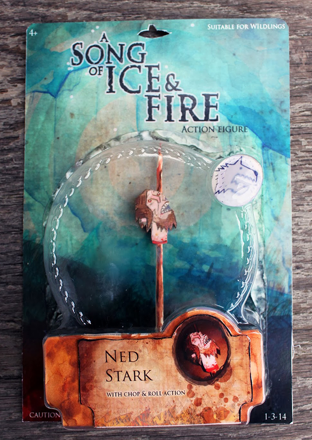A Song Of Fire And Ice Action Figures: Ned Stark