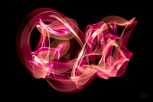 Radiant Light Abstract Light Paintings by Patrick Rochon