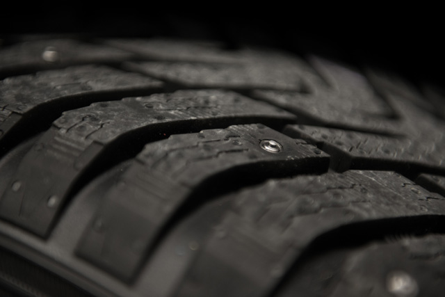 Winter Tires with Retractable Studs