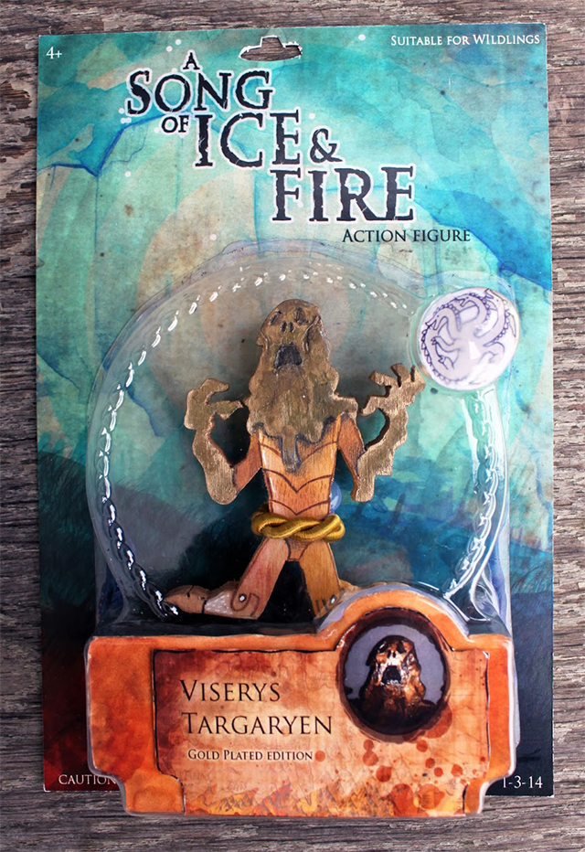 A Song Of Fire And Ice Action Figures: Viserys Packaged