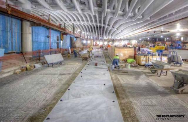 WTC Masons Laying Floor