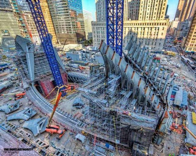 WTC  - Steel Installation Nov 2013