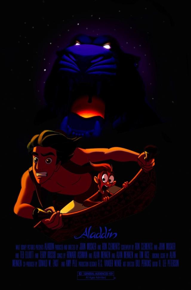 Aladdin Serious Movie Poster