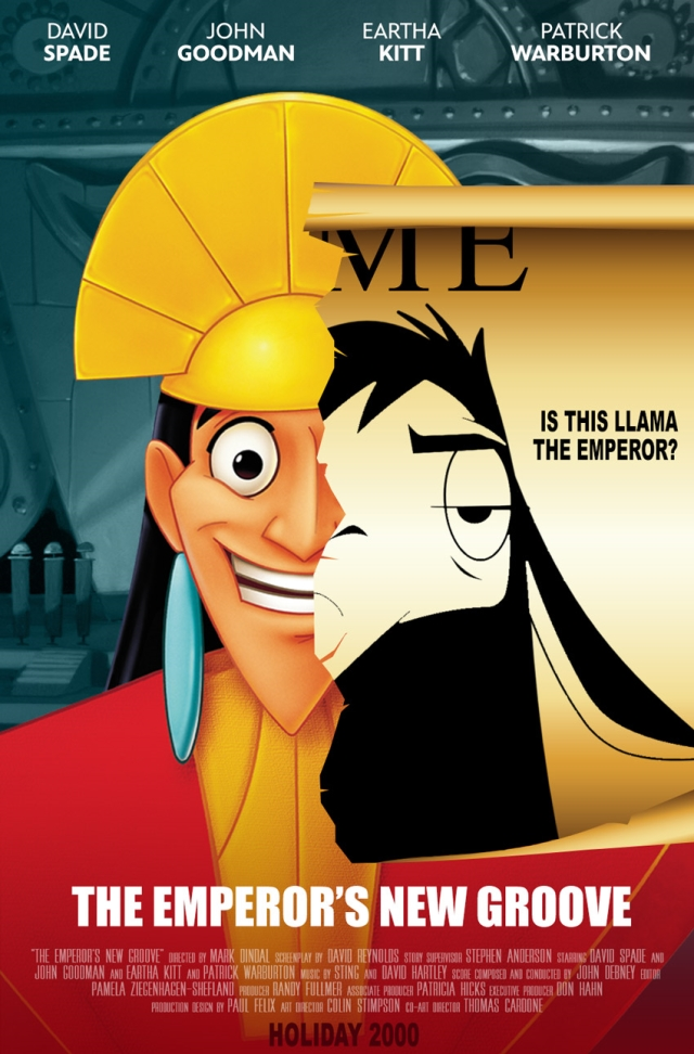 Emperor's New Groove Serious Poster