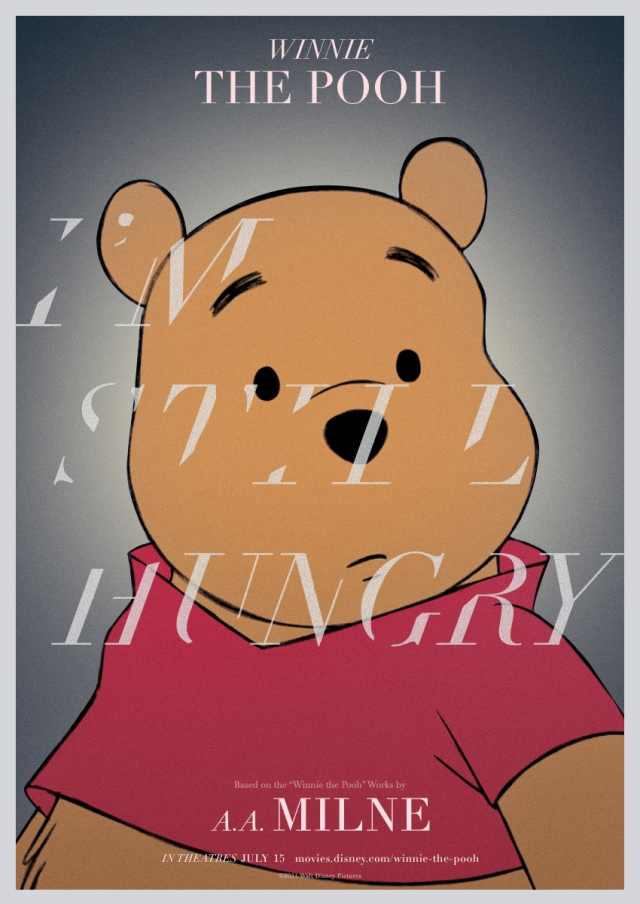 Winnie the Pooh Serious Poster