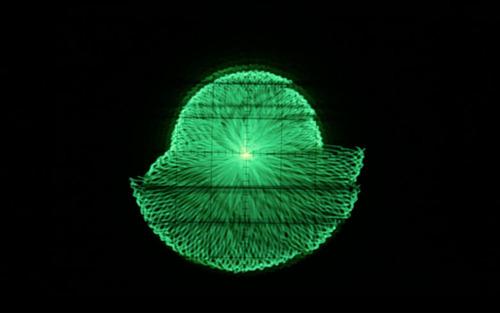 Oscilloscope Music Video