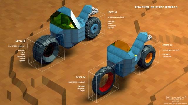 Planets Cube Vehicle Concept Art