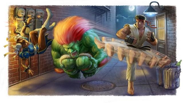 Polygon Street Fighter II