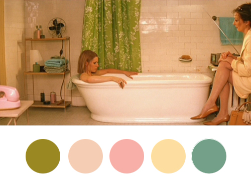 Wes Anderson Palettes - The Royal Tenenbaums