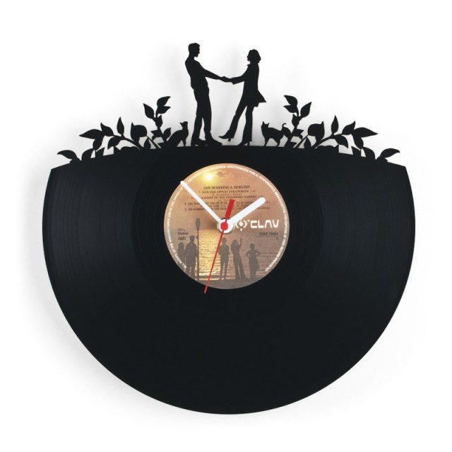 Re Vinyl Wall Clock
