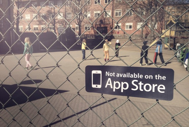 Not on App Store Sticker