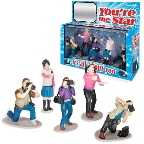 You're The Star Vinyl Figure Set