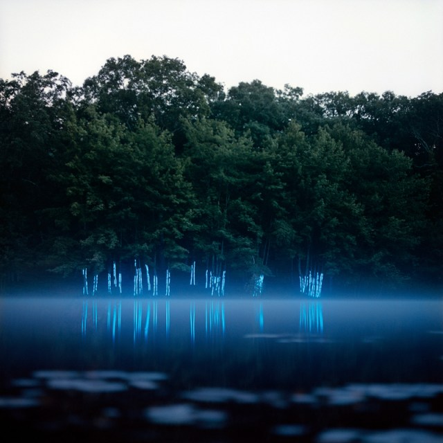 Stunning Light Painted Landscape Photos by Barry Underwood