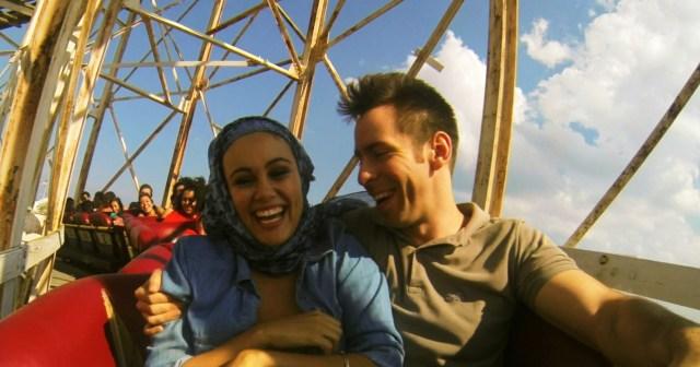 Sam & Amira rollercoaster