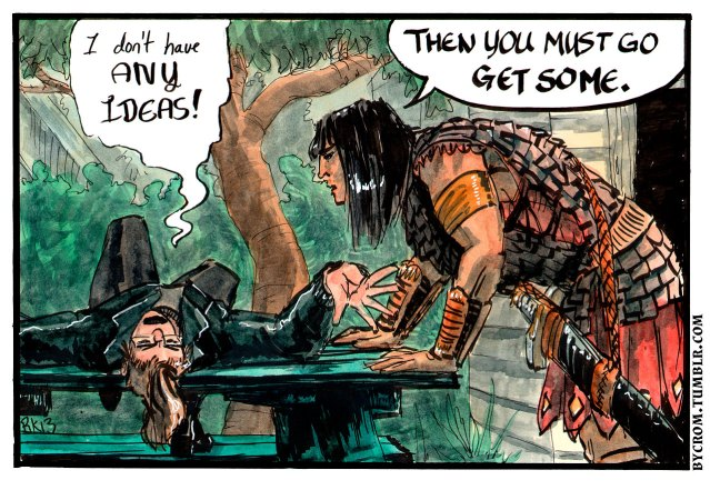 By Crom! Webcomic