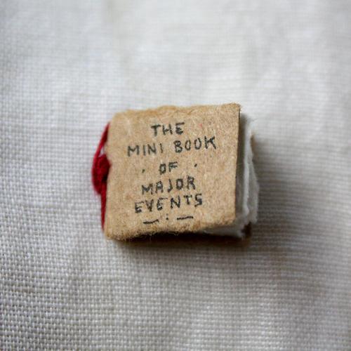 The Mini Book of Major Events