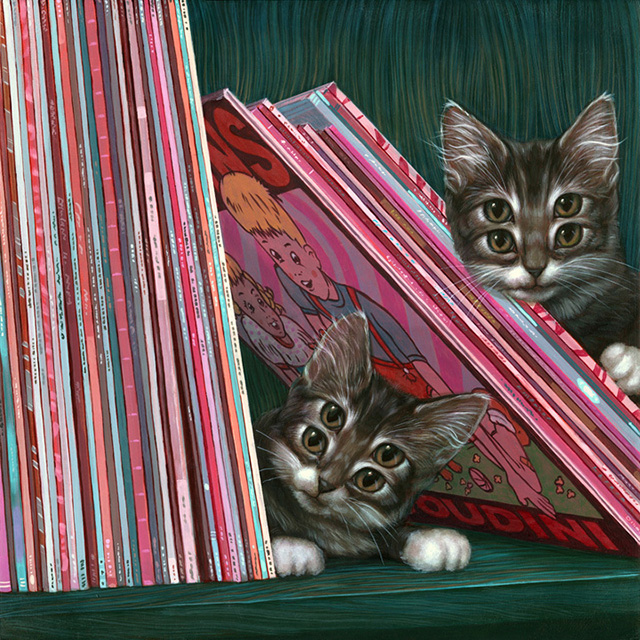 Louie and Nico by Casey Weldon