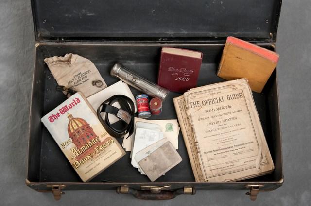 Willard Suitcases by Jon Crispin