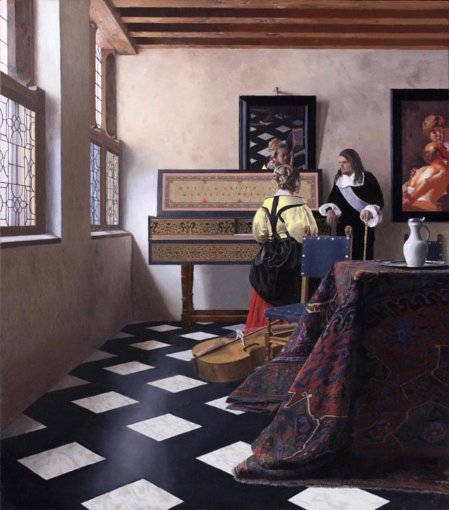 Tim Jenison's Vermeer Optical Machine Hypothesis