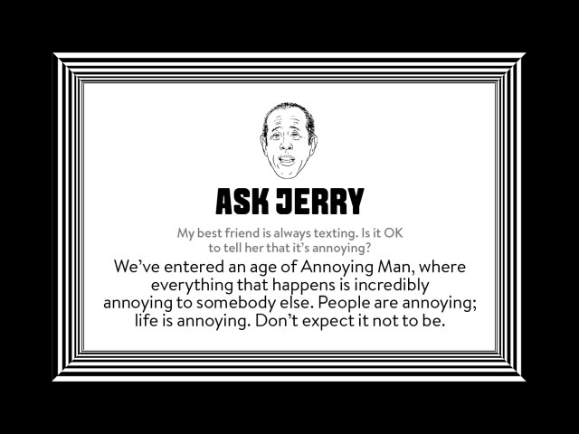 Ask Jerry
