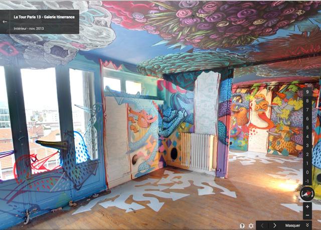 Google Street Art Project