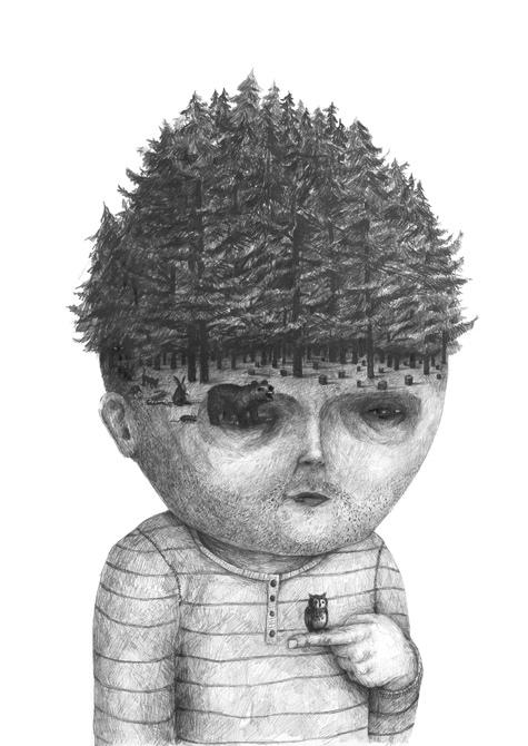 Wonderfully Bizarre Character Drawings by Stefan Zsaitsits