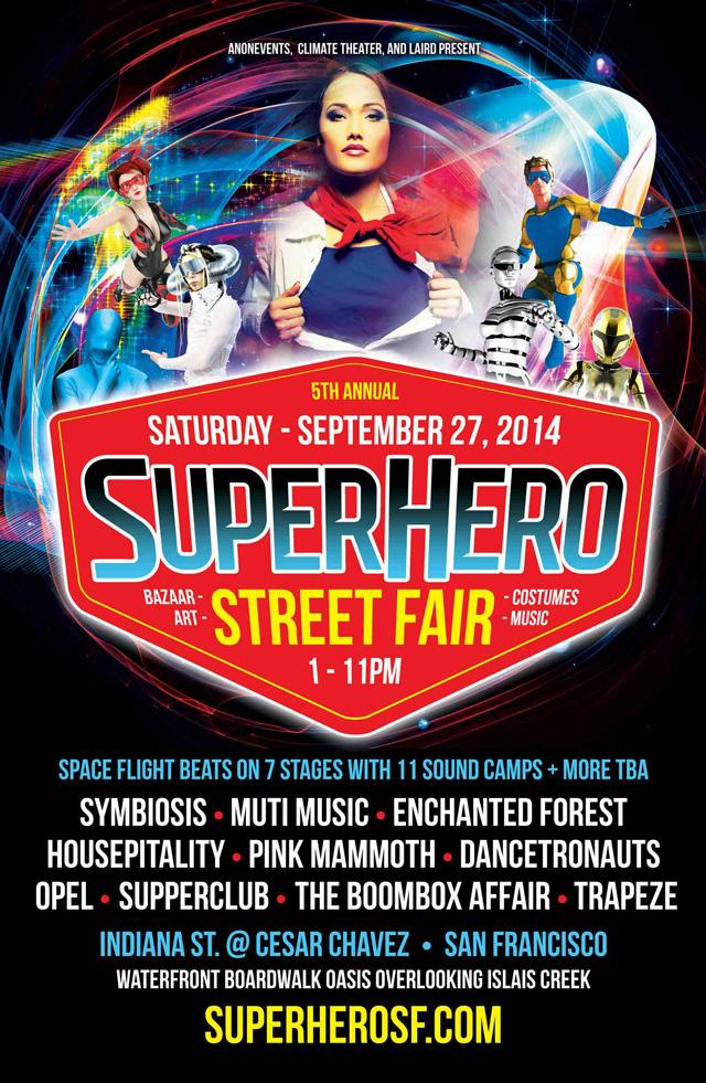 5th Annual Superhero Street Fair