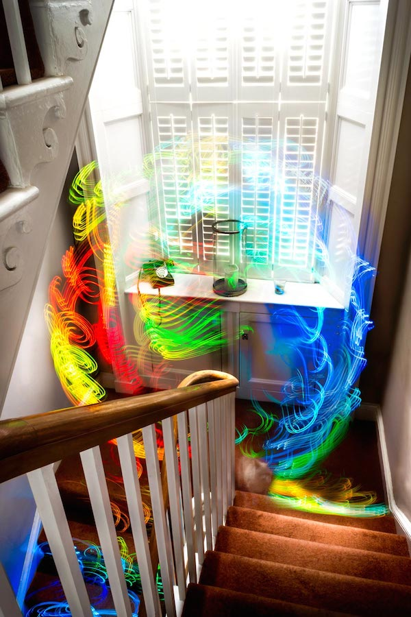 Fascinating Long Exposure Photos That Visualize Wi-Fi Signal Strength