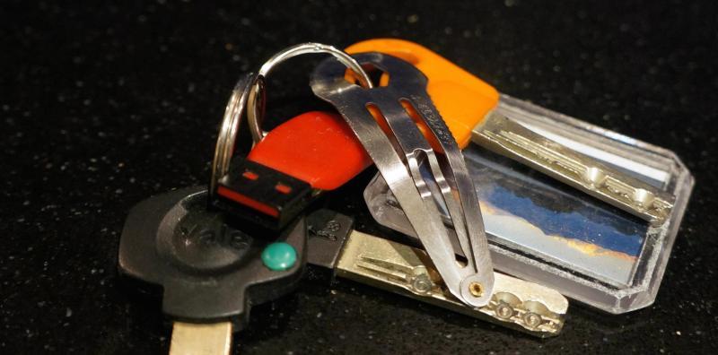 Leatherdos Key Chain