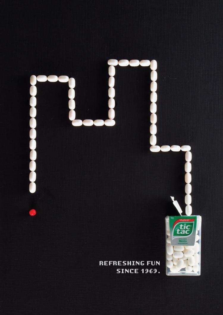 Tic Tac Snake Ad