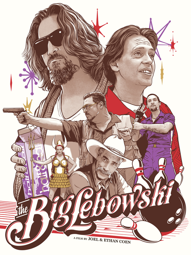 Way out west there was this fella… (The Big Lebowski) by Joshua Budich
