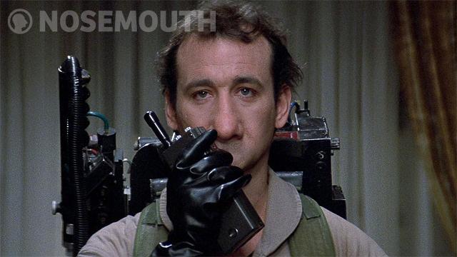 Nosemouth Bill Murray Ghostbusters