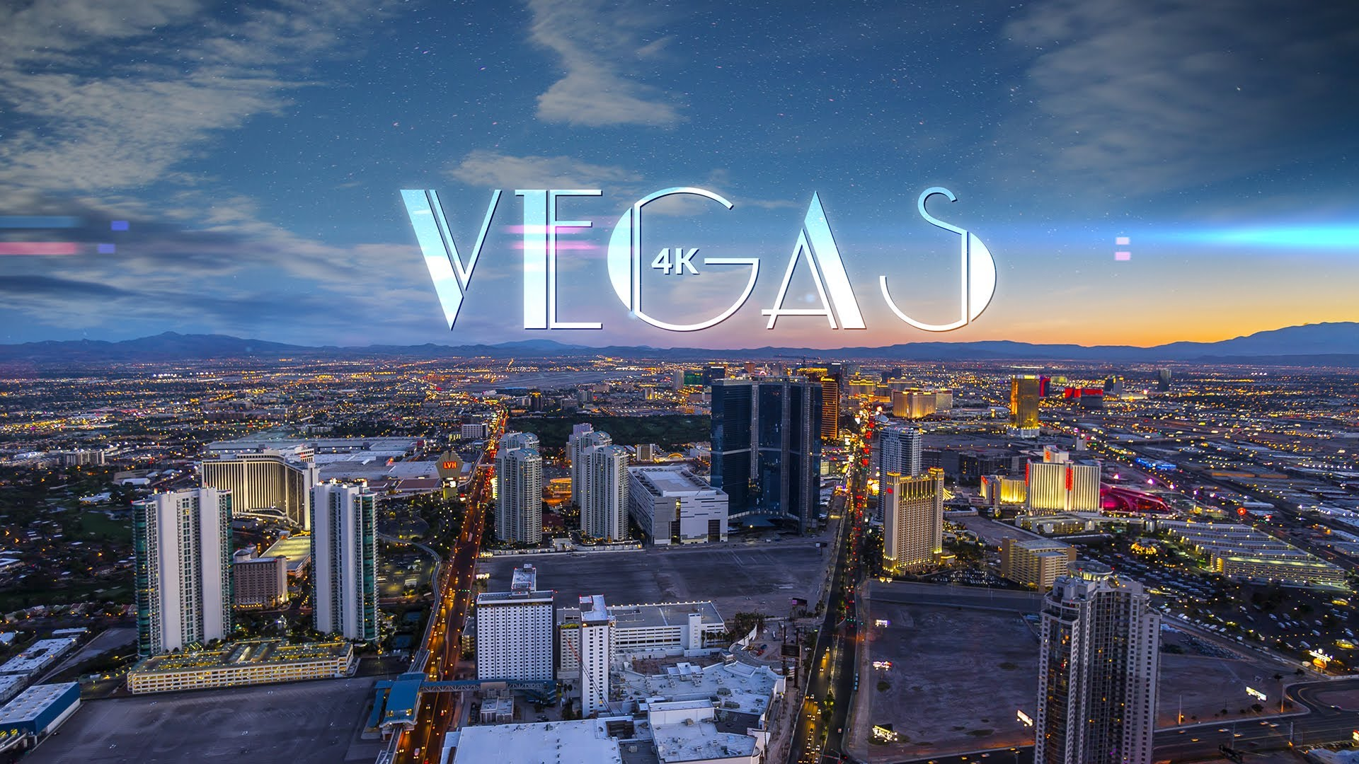 Vegas 4k An Ultra High Definition Time Lapse Video Of Sin City At Night