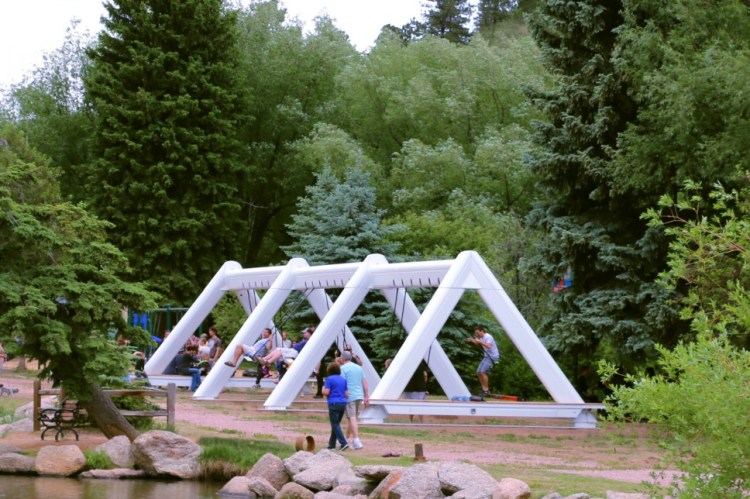 A Musical Swing Set That Lets Participants Create Music Together
