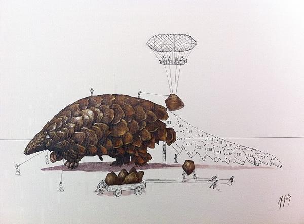 Animal Illustrations by Ricardo Solis