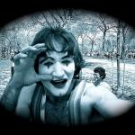 Photographer Unknowingly Captured Photos of an Unknown Robin Williams as Mime In 1974