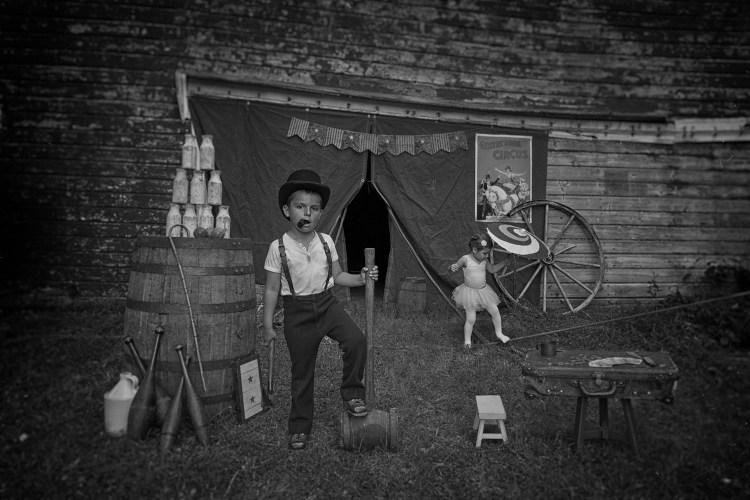 Vintage Portraits of Kids by Tyler Orehek