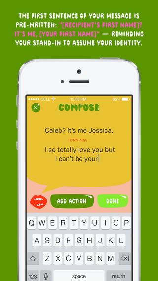Somebody Messaging App by Miranda July