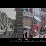 A 2014 Then-and-Now Video That Recreates a 1914 Film of the Dutch City of Alkmaar