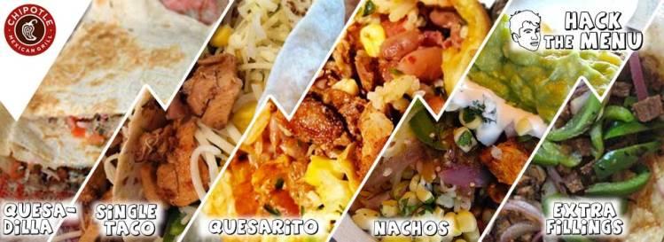 Chipotle Mexican Grill Secret Menu