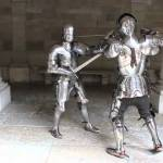 A Demonstration of Combat Inside a Full Suit of 15th Century Armor