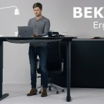 The New IKEA BEKANT Sit/Stand Desk Can Be Adjusted With the Push of a Button