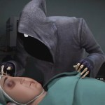 'Dji. Death Fails', An Amusing 3D Animation About an Unconscious Man Who Repeatedly Foils the Grim Reaper