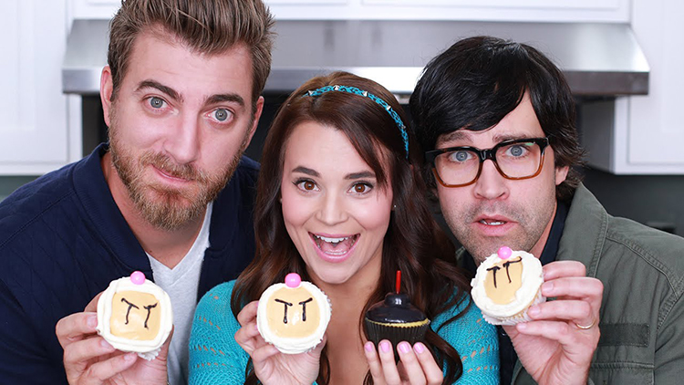 Bomberman Cupcakes