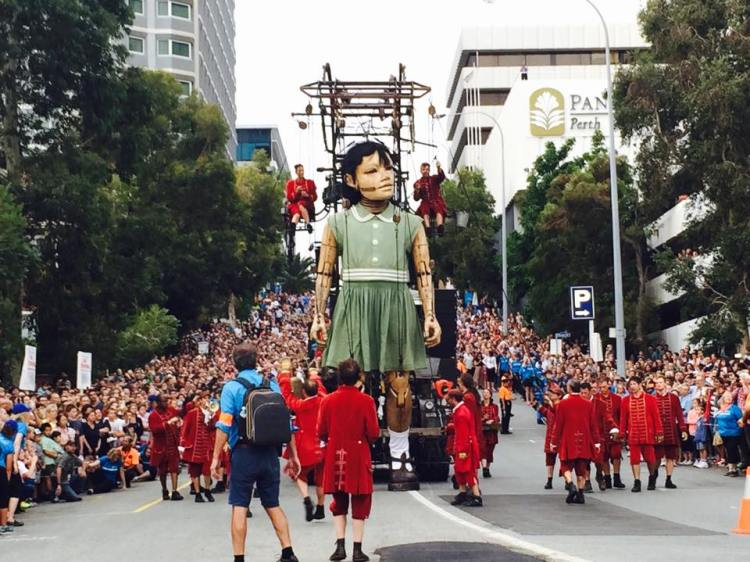 Royal de Luxe Giant Puppets in Perth