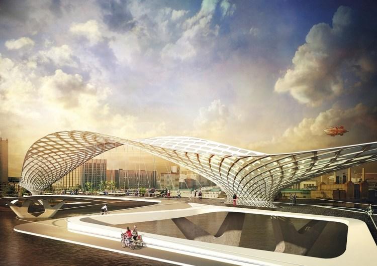 Sci fi designs for london bridge competition for Design bridge london