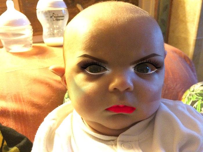 Makeup Baby 1