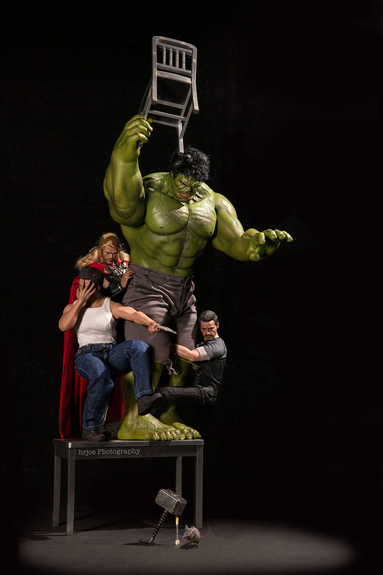 Best Super Hero Toys And Action Figures : Toy photographer captures marvel superhero action figures