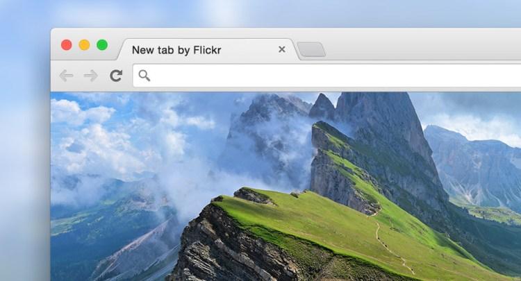 Flickr Tab