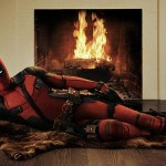 First Image of Ryan Reynolds Suited Up as Deadpool Casually Posing on a Bear Skin Rug for Upcoming Film Adaptation